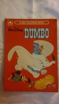 GOLDEN BOOK WALT DISNEY DUMBO A BIG COLORING BOOK 1972 UNCOLORED RARE 12... - $16.35