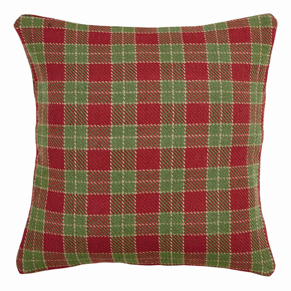 "Robert Pillow w/Down Fill - 18""x18"" - VHC Brands - Country Farmhouse Style"