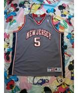 Vintage New Jersey Nets Jason Kidd Champion Authentic NBA Jersey 52  - $148.49