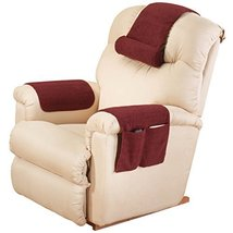 EasyComforts Red Sherpa Arm Rest Organizer by OakRidge Comforts - $16.23