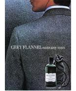 Grey Flannel Cologne Full Page Print Ad With Polo Ralph Lauren- Collectible - $3.50