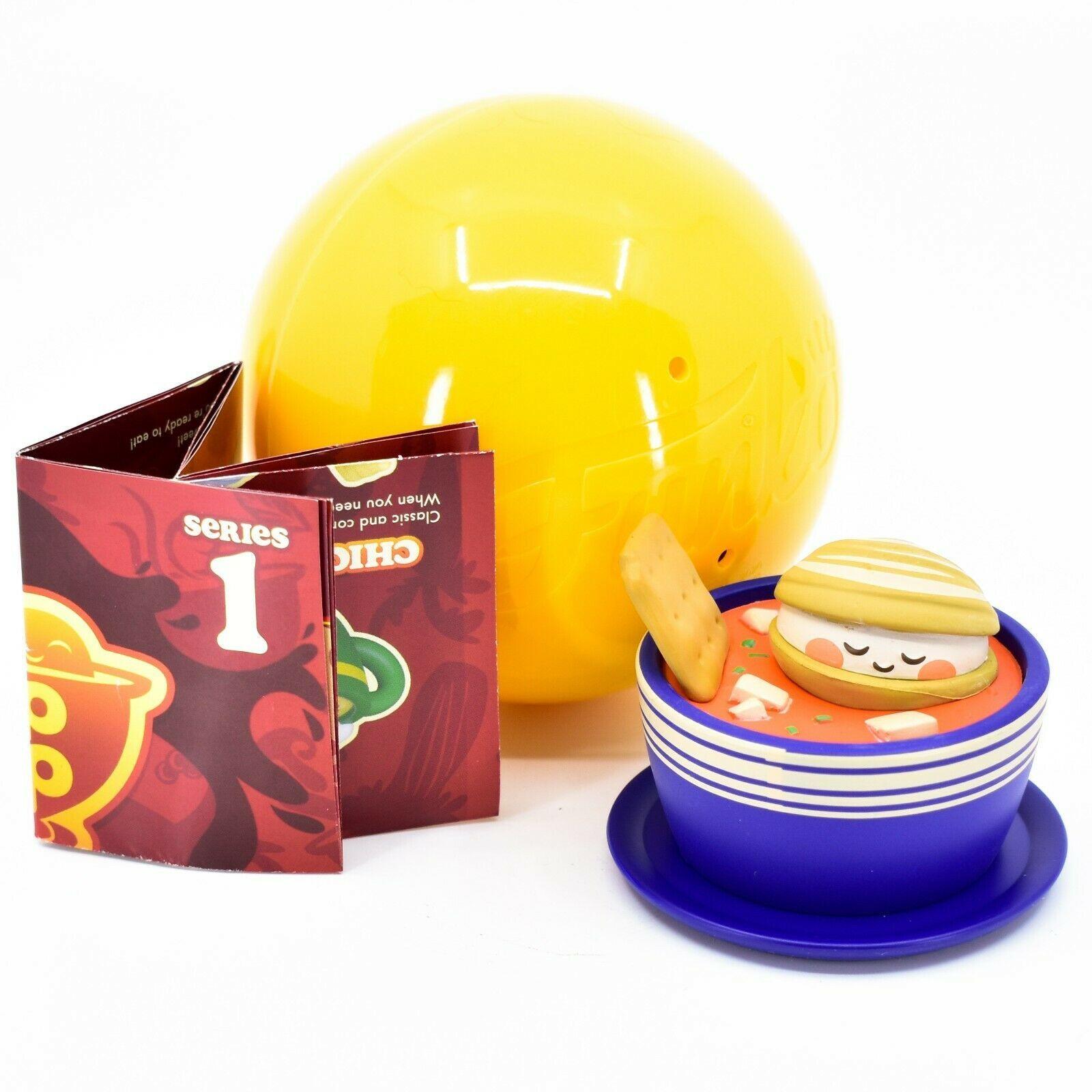 Funko Paka Paka Soup Troop Serie 1 Manhattan Clam Chowder 1/18 Chase Mini Figure