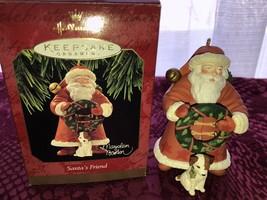 Hallmark 1997 Santa's Best Friend Marjolein Bastin Keepsake Ornament - $14.99
