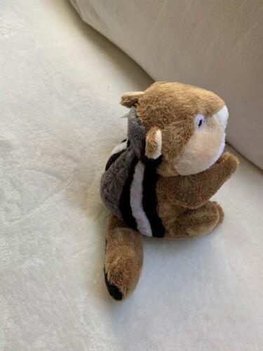 "Ganz Webkinz 9"" Chimpmunk Plush stuffed toy HM217. B2 Used nice Kids Doll Toy image 5"