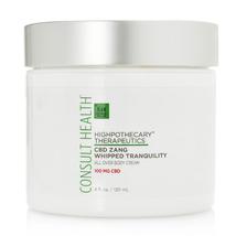 Consult Health Highpothecary Zang Body Cream 4 oz New Fresh Factory Sealed - $45.99