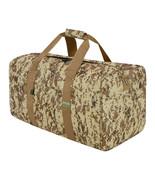 42 Inch Square Cargo Sports Bag TAN Camo Duffel Huge Jumbo Duffelbag Tot... - $29.69