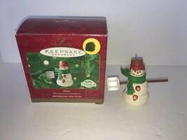 Hallmark Keepsake Ornaments MAX The Snowmen of Mitford 2000 - $5.00