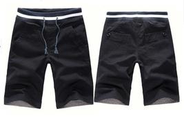 Men's casual pants in 5 minutes of pants cotton beach pants image 5