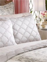 "New Ralph Lauren Grey Saint Honore Quilt Standard Pillow Sham 20 x 26"" F... - $49.49"