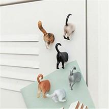 Kikkerland Chat derrière Aimants Ensemble de 6 Réfrigérateur - $16.19