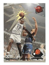 1992-93 Fleer Ultra Rejector Shaquille O'Neal Rookie Insert Card #4 - $19.80