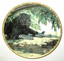 Lenox - Royal Cats Siesta Collectors Plate Leopard - Guy Coheleach - EUC - $12.86