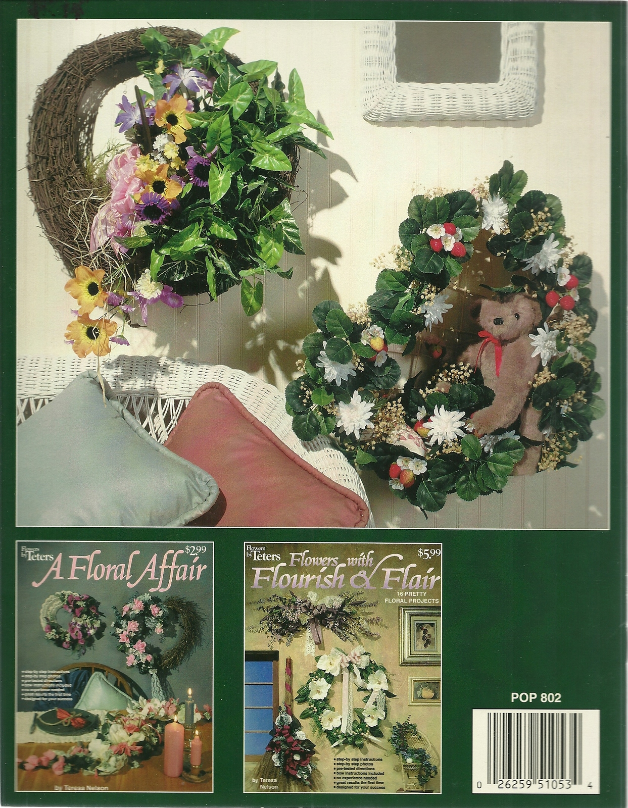 Bountiful Blossoms Flowers by Teters Floral Craft Book POP 802