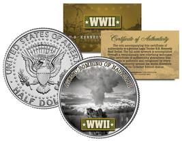 World War II ATOMIC BOMBING OF NAGASAKI JFK Kennedy Half Dollar U.S. Coin - $8.86