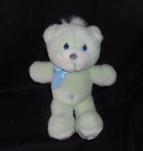 "9"" 1997 PRECIOUS MOMENTS MAY EMERALD GREEN TEDDY BEAR STUFFED ANIMAL PLU... - $14.03"