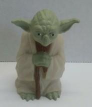 "Star Wars 1996 Lucasfilm Ltd. Yoda Figure By Applause 3"" tall - $4.50"