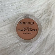 Brand New Benecos Natural Mattifying Compact Powder Foundation Beige .31... - $9.15