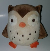 "Gymboree Owl Lovey Plush 7"" Stuffed Animal Toy Brown White 2006 w/ TAGS - $34.60"