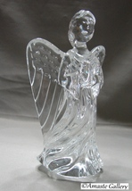 Waterford Crystal 6-Inch Guardian Angel Figurine No Box - $59.00