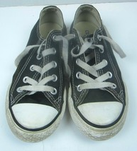 CONVERSE Black & White All-Star Youth Kids Size 12 Low Top Shoes Sneakers - $14.01