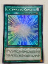 Yu-gi-oh! Trading Card - Gateway to Chaos - DOCS-EN057 - Super Rare - 1s... - $1.50