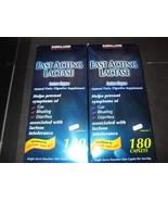 Fast Acting Lactase Kirkland 2-180 Caplet Boxes - $42.13