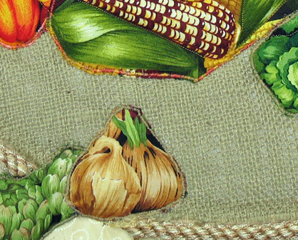 Good Harvest: Quilted Art Wall Hanging