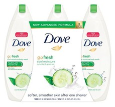 Dove go fresh Cool Moisture Body Wash, Value Pack, 24 Ounce, 3 Count - $41.85