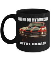 Muscle Car Garage Chevelle SS 461 - 11 oz Classic Black Coffee Mug  - £13.07 GBP