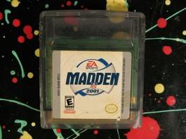 Madden NFL Football 2001  Nintendo Game Boy Gameboy Color Game - $9.25