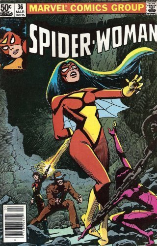 Spider-Woman #36 March 1981 [Comic] by Chris Claremont