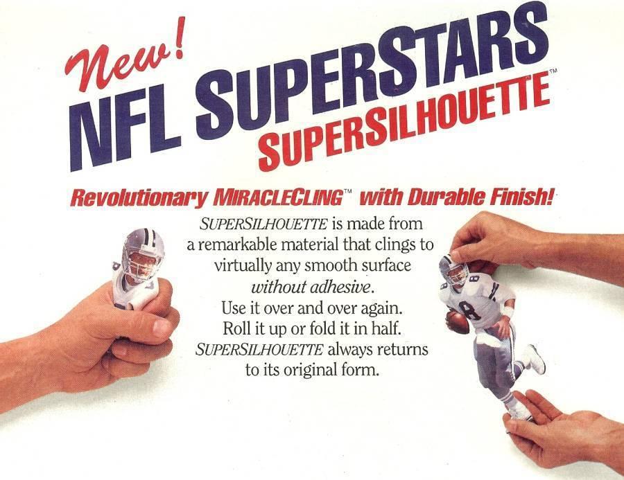 nfl superstars fat head supersilhouette mark rypien washington redskins