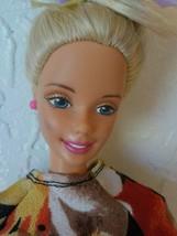 """Barbie Doll 12"""" Twist Turn Mattel Indonesia Blond Blue Eye Earring Top S... - $22.28"""