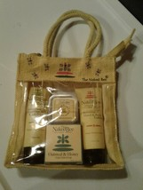 The Naked Bee Orange Blossom Honey Travel Kit with Candle. FREE SHIPPING
