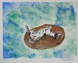 Greyhound art lazy days by cori solomon thumb155 crop
