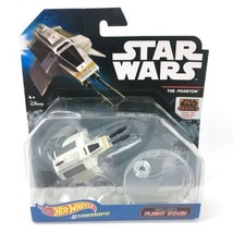 Star Wars Rebels Hot Wheels Starships THE PHANTOM with Flight Stand diec... - $7.69