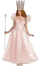 Rubie's Wizard Of Oz Deluxe Adult Glinda The Good Witch with Dress and C... - $43.04