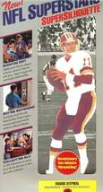 nfl superstars fat head supersilhouette mark rypien washington redskins - $11.99
