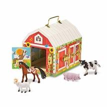 Melissa & Doug Latches Barn Toy, Developmental Toy, Helps Improve Fine - $48.41