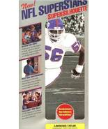 nfl superstars fat head supersilhouette lawrence taylor new york giants - $11.99
