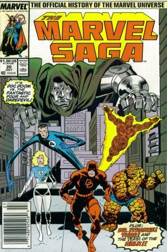 The Marvel Saga: The Official History of the Marvel Universe #20 (Marvel Comi...