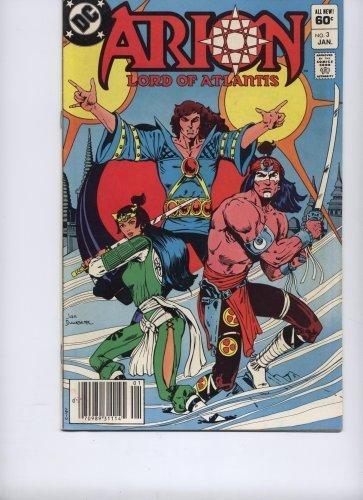Arion, Lord of Atlantis - Jan 1983 (No. 3) [Comic] by Paul Kupperberg & Jan D...