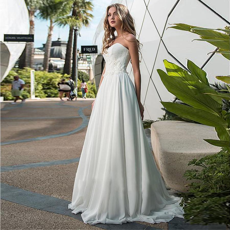 On sweetheart neckline a line wedding dresses ruched bodice with lace bridal dresses vestidos de