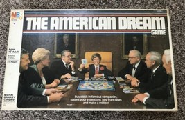The American Dream Game vintage Complete Milton Bradley 1979 #4922 Board... - $42.13