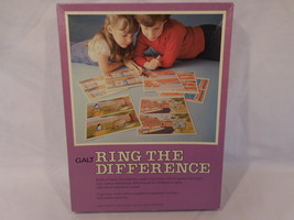 Galt Ring The Difference Vintage 1981  Board Game Complete  Rare - $38.02