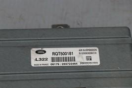 2006 Land Rover Range Sport L322 Suspension Control Module Unit Rqt500181 image 2