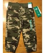 NWT Lee Dungarees Toddler Camouflage Relaxed Straight Leg Pants - Size: 3T - $16.82