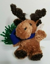 DAN DEE Collector's Choice Moose MerryBrite Christmas Plush Stuffed Friends Toy - $11.99