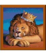 Lion King animal cross stitch chart Cody Country CrossStitch - $9.00