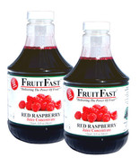 "Red Raspberry Juice Concentrate ""Cold Filled"" TWO QUART 64 Day Supply - $119.90"
